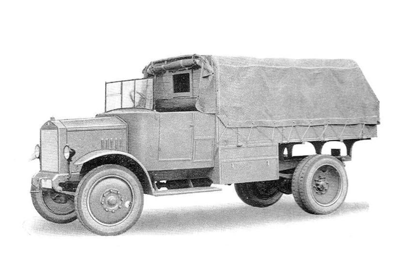 1922 Steyr III - mit 2,5 to Nutzlast