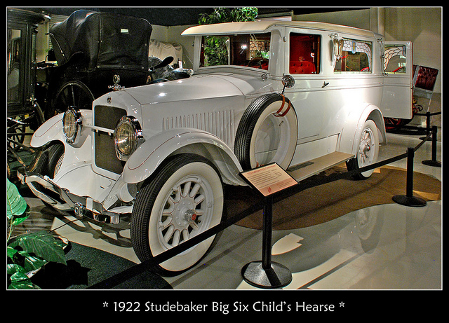 1922 Studebaker Child's Hearse