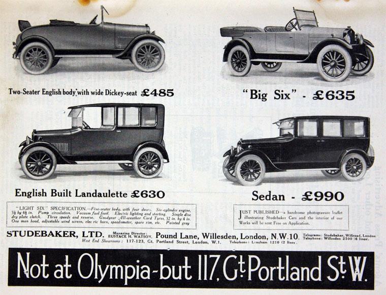 1922 Studebaker d