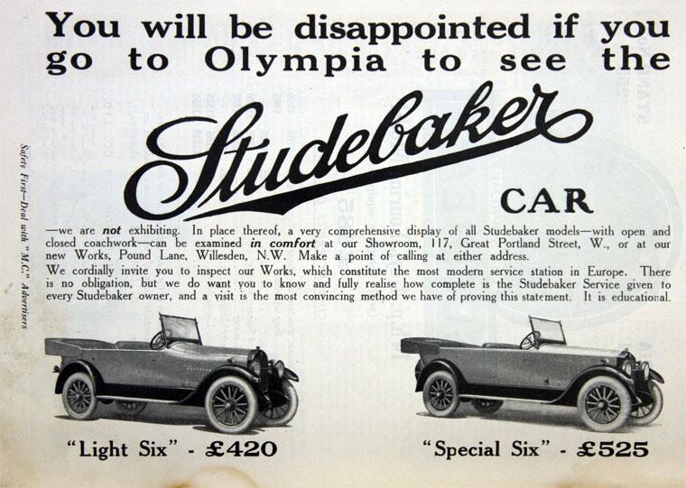 1922 Studebaker e