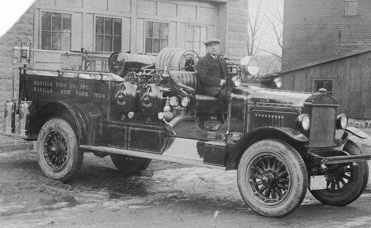1924 Stewart fire truck