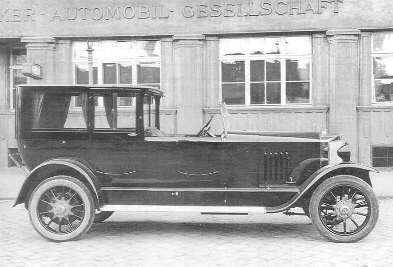 1924 Steyr Typ V