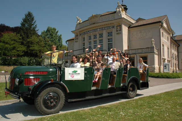 1924 Steyr vintage cabrio bus