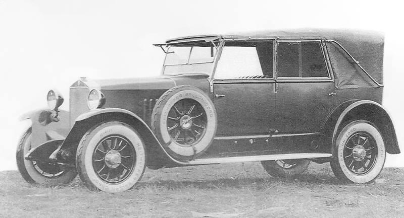 1925 Steyr Typ VII mit Flachkühler