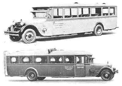 1925 Studebaker Bender Bus