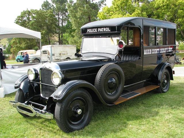 1925 Studebaker Police Paddy Wagon.
