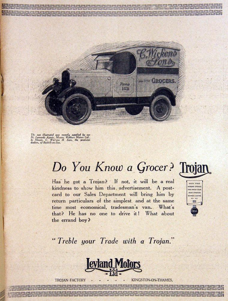 1925 Trojan sept