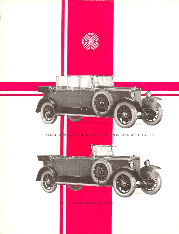 1926 Steyr Typ VIIa