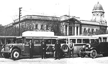 1926 Studebaker Bus (middle) in Manitoba