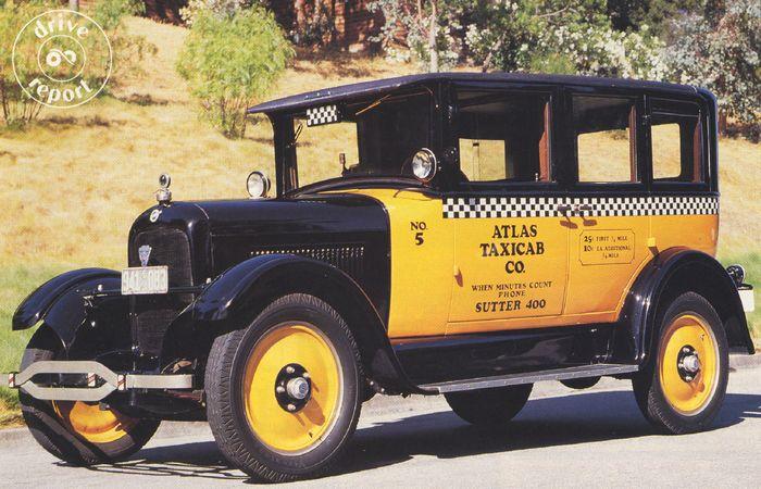 1926 Studebaker Taxi lede