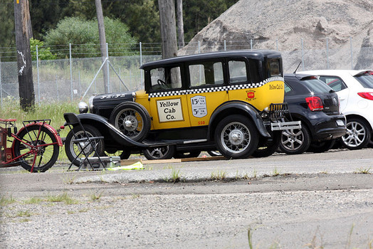1926 Studebaker taxi