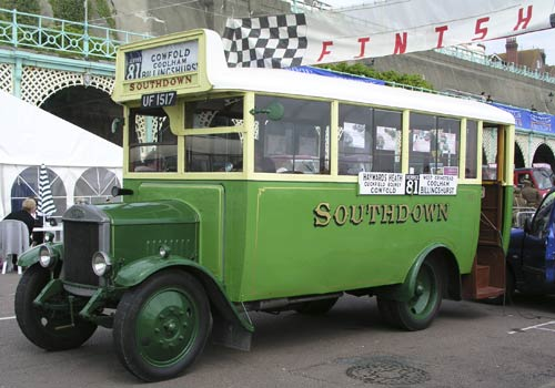 1927 Dennis Bus with Short Brothers Body