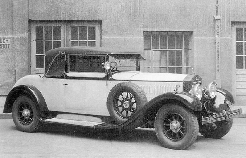 1927 Steyr Typ XVI - 4 ltr, 6 Zylinder - der letzte Typ einer legendären Reihe
