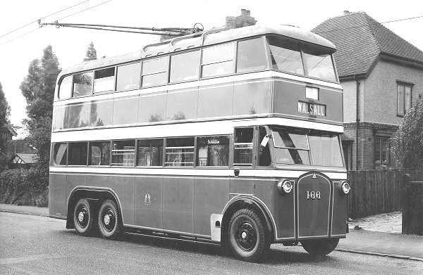 1927 Sunbeam bus with an MS2 chassis and a Weymann body, used by Walsall Corporation.