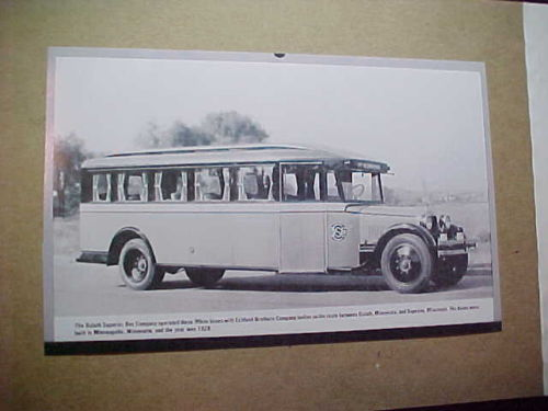 1928 Eckland Bros Bus of Duluth-Superior Bus Co (Minnesota)