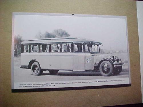 1928 Eckland Bros Bus of Duluth-Superior Bus Co (Minnesota)