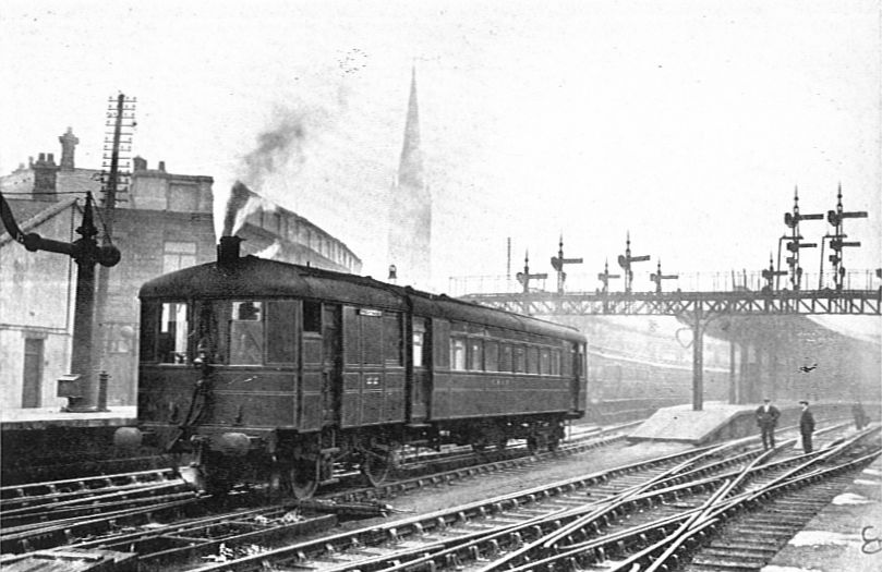 1928 LNER Sentinel-Cammell steam rail-car (CJ Allen, Steel Highway)