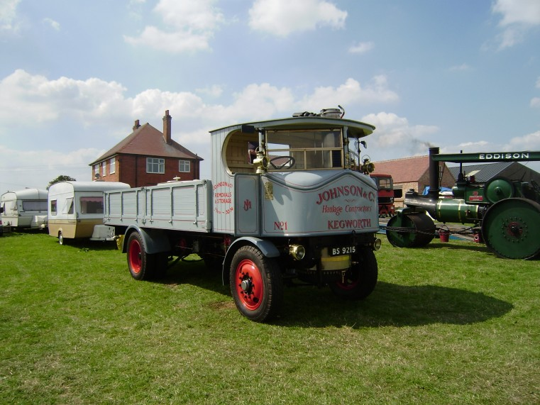 1928 Sentinel Steam lorry s-n 7651