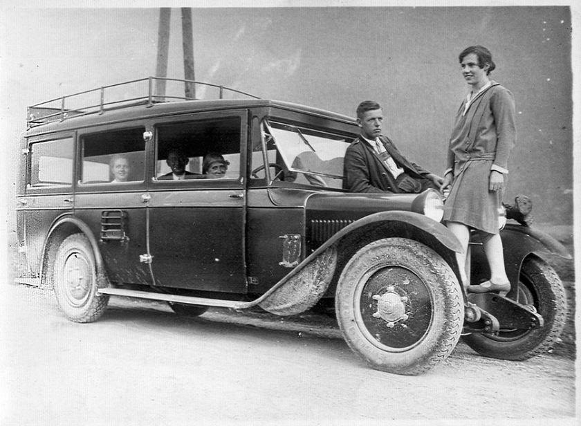 1928 Steyr 40 als Kleinbus
