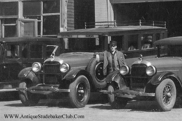 1928 Studebaker Bus at the Battle Creek Sanitarium a