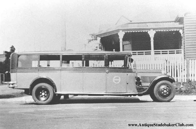 1928 Studebaker Bus at the Battle Creek Sanitarium