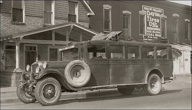 1928 Studebaker Bus in Colorado