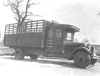 1928 Studebaker Rack Side Flatbed Truck