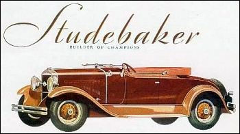 1929 studebaker presdent straight eight roadster for four