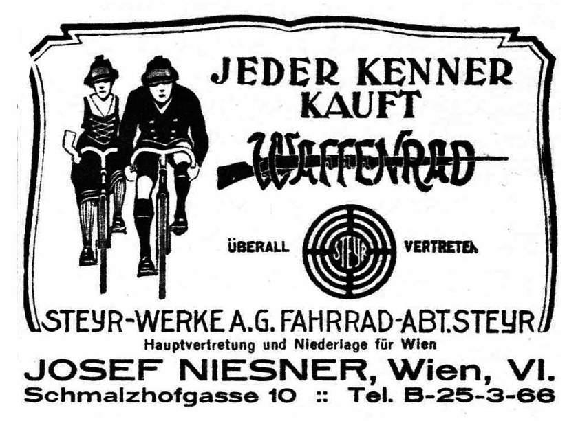 1929 Waffenrad_niesner_1929