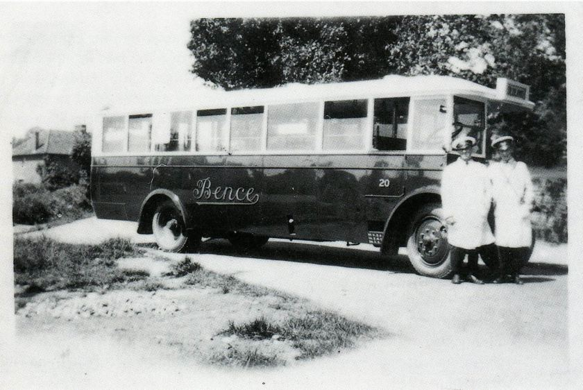 1930 Bence Motor Services, Albion Bus