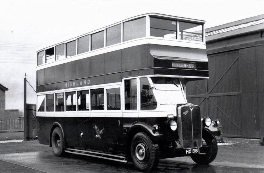 1930 HX 1388 A E C Regent Strachans H2624R