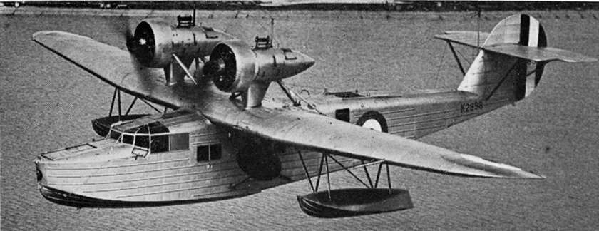 1930 Saro Cloud A19 of the Royal Air Force
