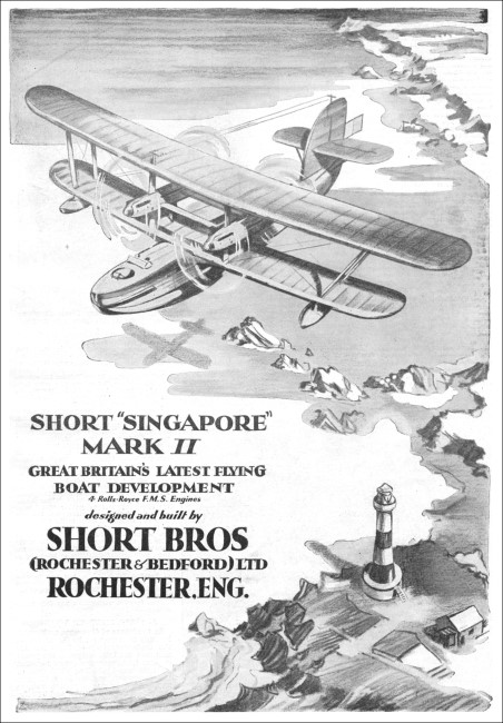 1930 Shorts Brothers-Singapore MKII-Flying Boat