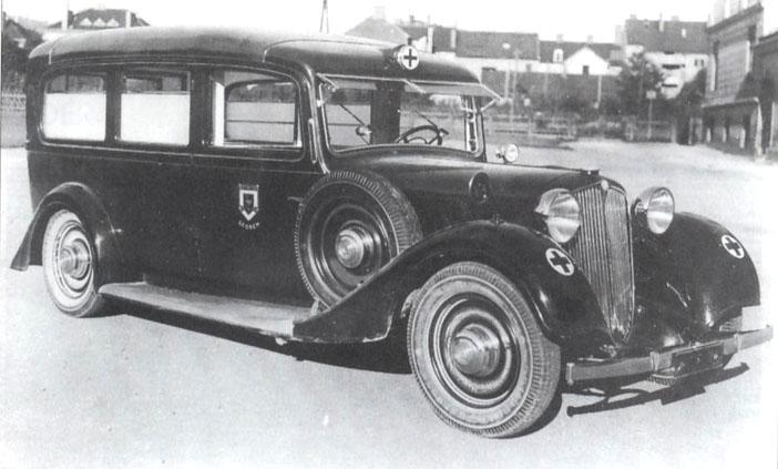 1930 Steyr 530 ambulance