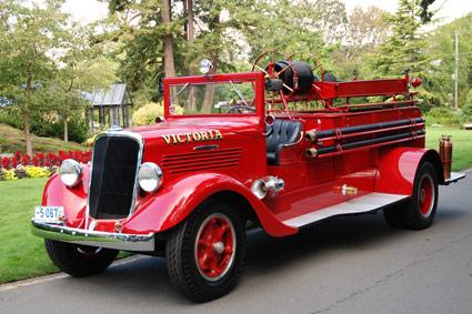1930 Studebaker brandweerwagen victoria