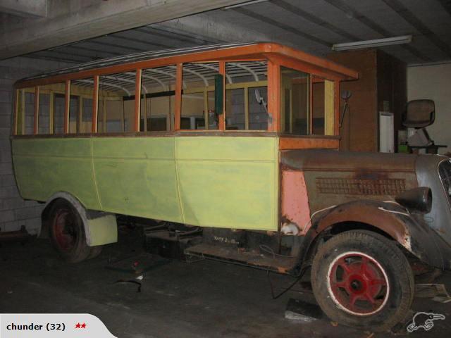 1930 Studebaker Bus