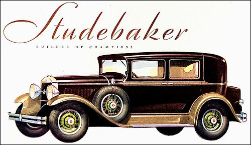 1930 Studebaker Commander Eight Brougham 1