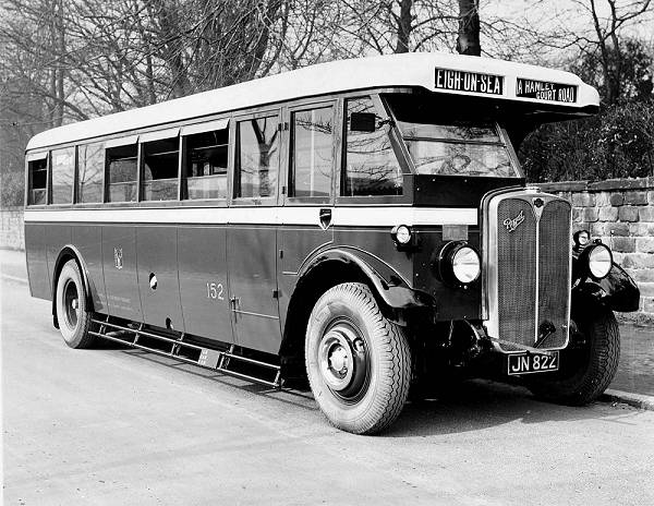 1931 AEC Regal with single deck English Electric 30 seat body
