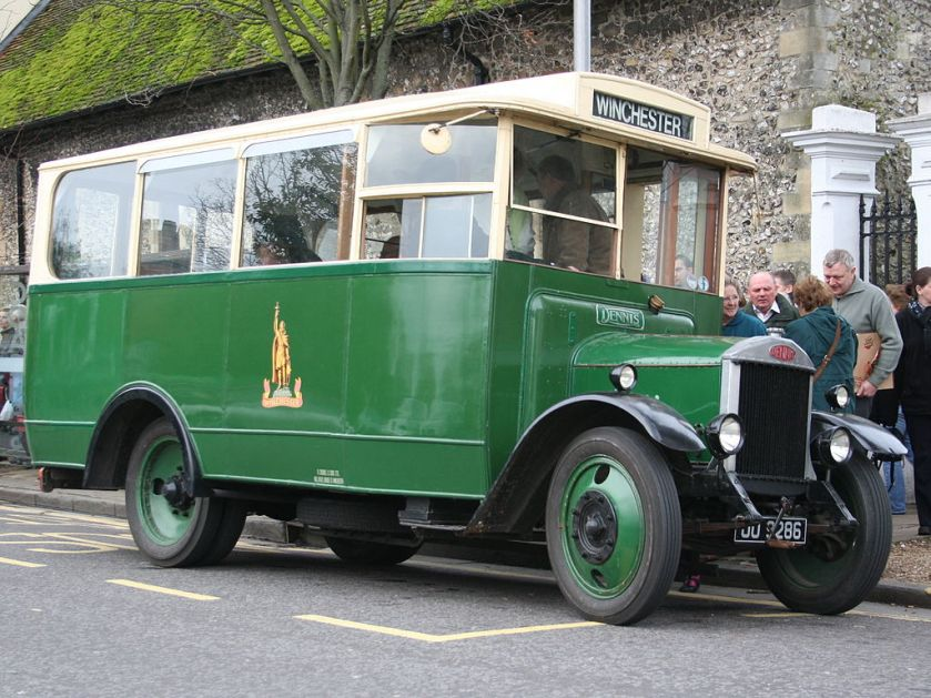 1931-built Dennis 30cwt (1.5 ton) bus fitted with Short Brothers body for King Alfred Motor Services a