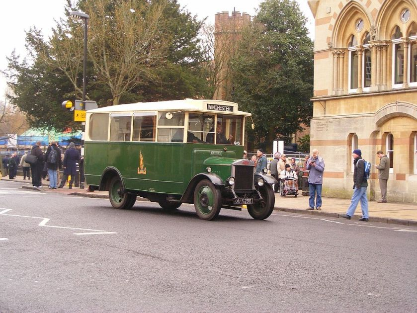1931-built Dennis 30cwt (1.5 ton) bus fitted with Short Brothers body for King Alfred Motor Services c