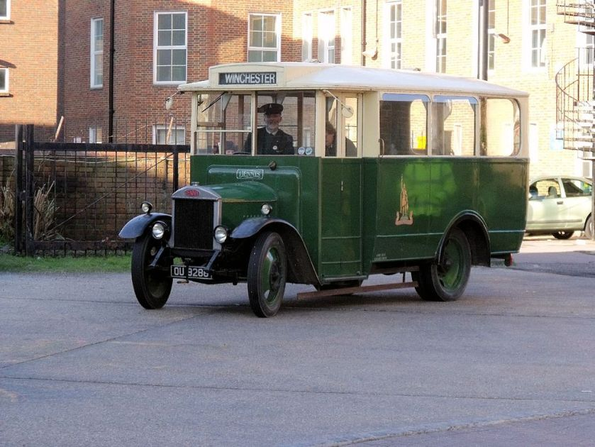 1931-built Dennis 30cwt (1.5 ton) bus fitted with Short Brothers body for King Alfred Motor Services e