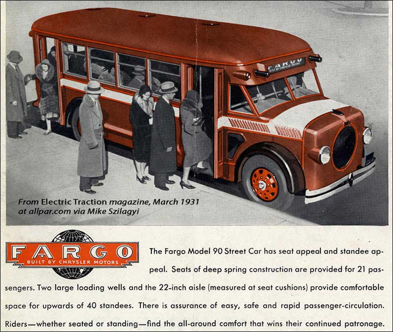1931-bus Fargo-Dodge Bus