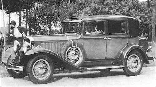 1931 studebaker Commander Eight Regal Brougham