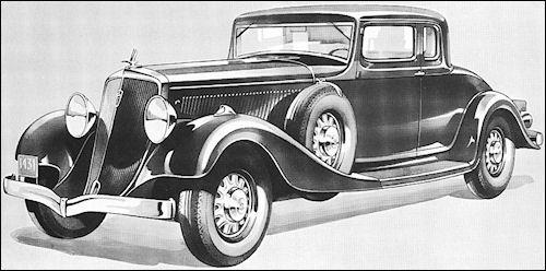 1931 Studebaker President Coupe