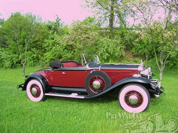 1931 Studebaker President Eight All Seasons Convertible Roadster