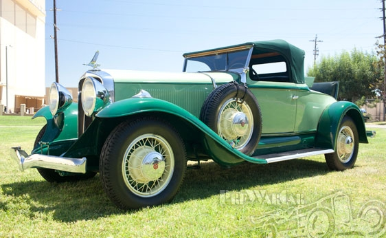 1931 Studebaker President Eight Four-Seasons Roadster