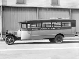 1931 Studebaker S-series School Coach Crown Motor Carriage bus