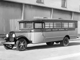 1931 Studebaker School Coach Chino Valley School