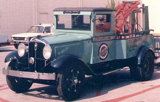 1931 studebaker towtruck BO