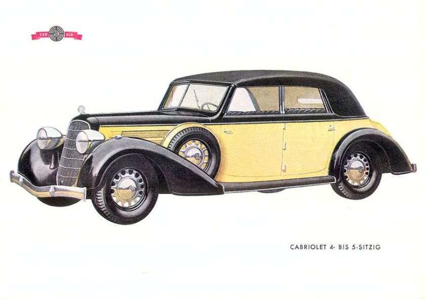 1932 Steyr 630 Cabriolet p24c